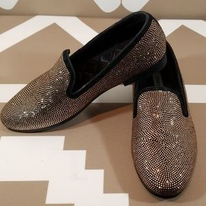 Steve Madden rhinestone shoes